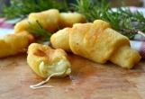 croissants de patatas con queso