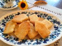 galletas con nata y mantequilla