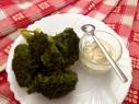 brocoli con salsa deliciosa
