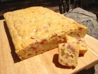 pastel salado con calabacines queso y embutidos 2